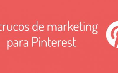 50 trucos para tu estrategia de marketing en Pinterest
