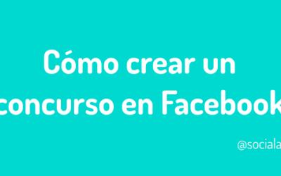 Cómo crear un concurso en Facebook