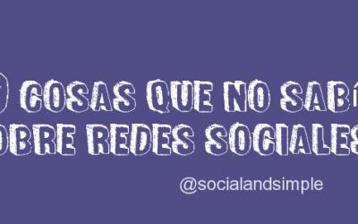 10 secretos de las redes sociales
