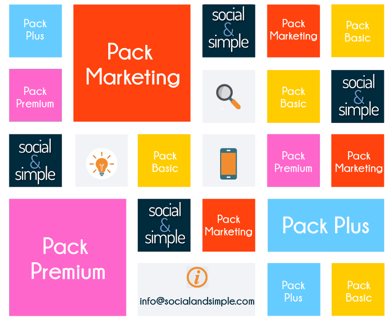 Marketing digital a medida. ¡Packs ahorro!